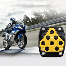 2pcs/lot motorcycle al Brake foot pedals cover Skid and styling very cool