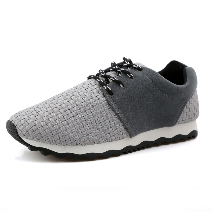 Casual Mens Shoes Fashion 2015 Sneaker Breathable Air Mesh Lace Comfort Sport