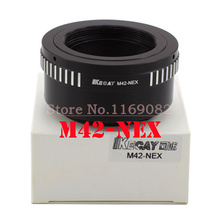 Buy KECAY M42-NEX Lens mount Adapter M42 Lens S&NY NEX E Mount body NEX3NEX5 NEX5N NEX7NEX-C3NEX-F3 NEX-5R NEX6 for $9.97 in AliExpress store