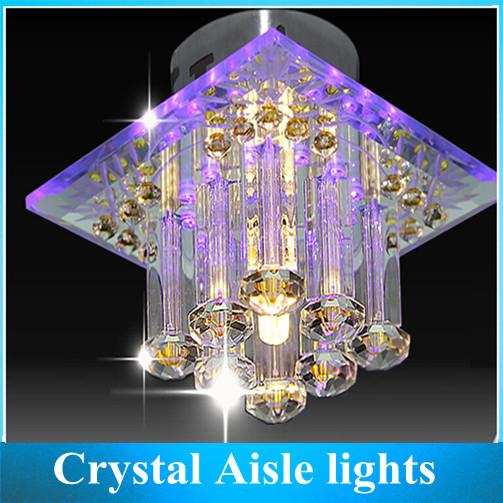 LED Crystal Aisle Lights Porch Corridor Hallway Light