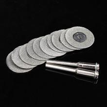 10X20 мм dremel аксессуары алмазные шлифовальные колеса dremel увидел мини циркулярной пилой для резки диск dremel роторный инструмент алмазный диск