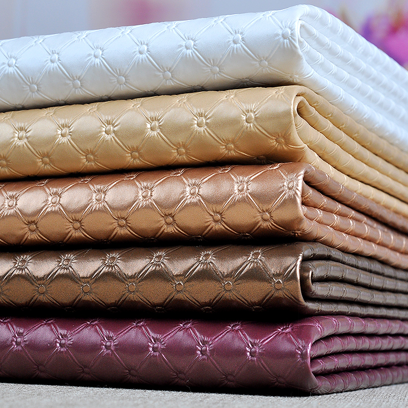 50x135cm Pvc Synthetic Leather Furniture Fabric, Pvc Upholstery Fabric Sofa, Thick Faux Leather Material Vinilo Decorativo Tissu(China (Mainland))