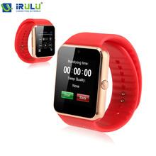 """2015 Bluetooth-Smartphone Uhren 1.54 """"GT08 Smart Watch für Apple ios Samsung GT08 tragbares Gerät Telefon-freies Verschiffen (China (Festland))"""