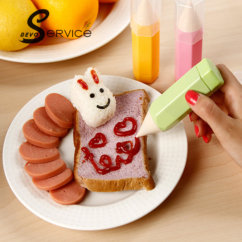 free shipping 3pcs set pastry cream chocolate decorating syringe