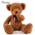 Kawaii Face Shy Bear No listen No look No say Plush Stuffed Kids Toy Doll Teddy