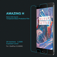 Nillkin For Oneplus 3 Amazing H Luxury Anti-Explosion Tempered Glass Screen Protector Film For Oneplus3 Oneplus Three Glass