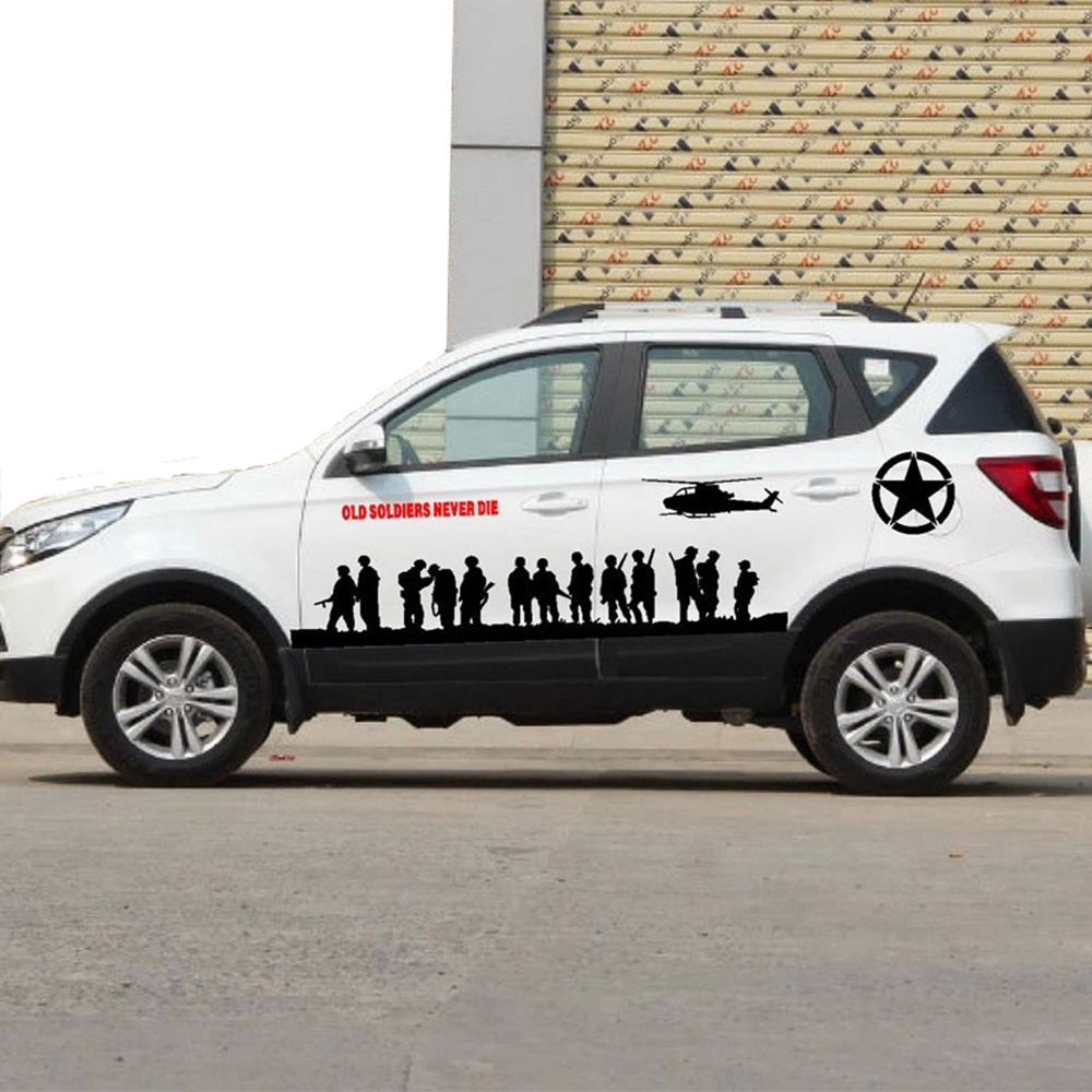 Car full body sticker design - Universal Car Stickers And Decals Car Styling Funny Full Body Car Sticker For Bmw Vw Ford Toyota Honda