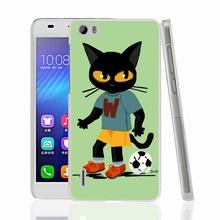 00834 football cat Cover phone Case sony xperia z2 z3 z4 z5 mini aqua M4 M5 E4 E5 C4 C5 - Bermuda Triangle Watch Co.,Ltd store