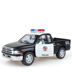 1:32 Scale Emulational Electric Alloy Diecast Models Car Toys, Pull Back Cars Toy, Doors Openable Police Car For Collection(China (Mainland))