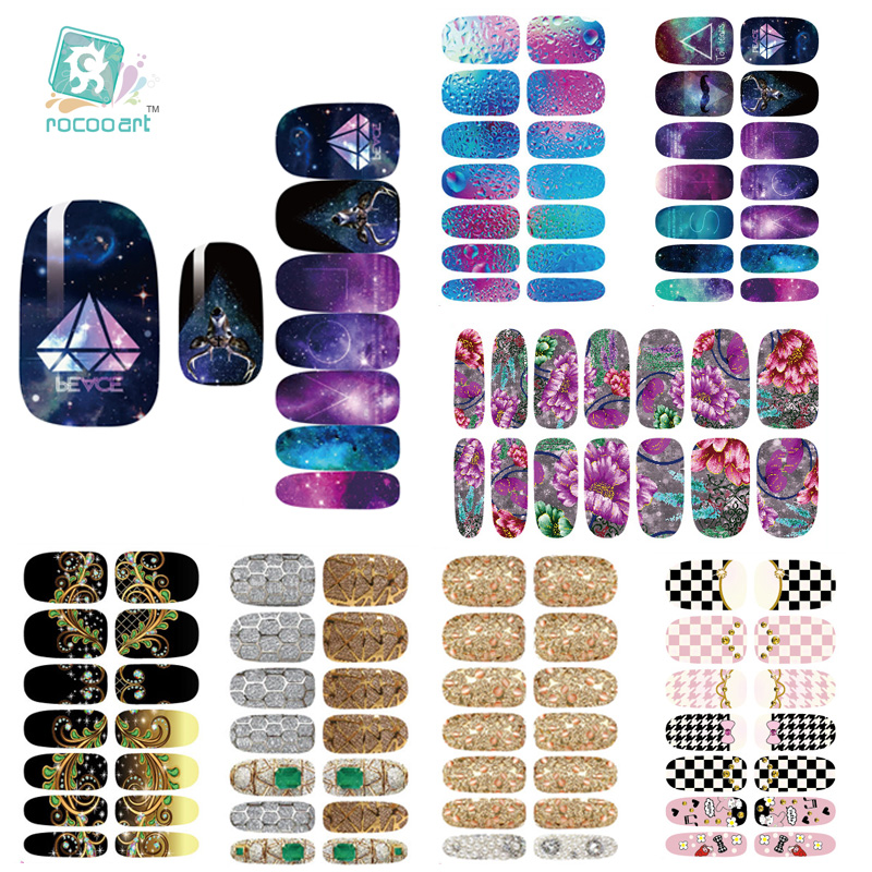 K1 Multi Color Nail Art Stickers Metallic Water Drops Space Water Transfer Nail Foils Decal Minx Manicure Decor Tools Nail Wraps(China (Mainland))