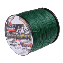 500M Brand Feihong 4 strands Japan Multifilament 100% PE supper strong  Braided Fishing Line 6LB -80LB(China (Mainland))