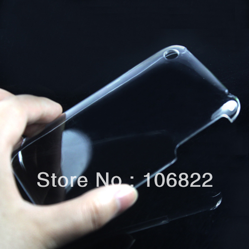 Crystal Clear Transparent Ultra Thin Snap On Hard Case Cover For iPhone 3G 3GS ZF1062TW()