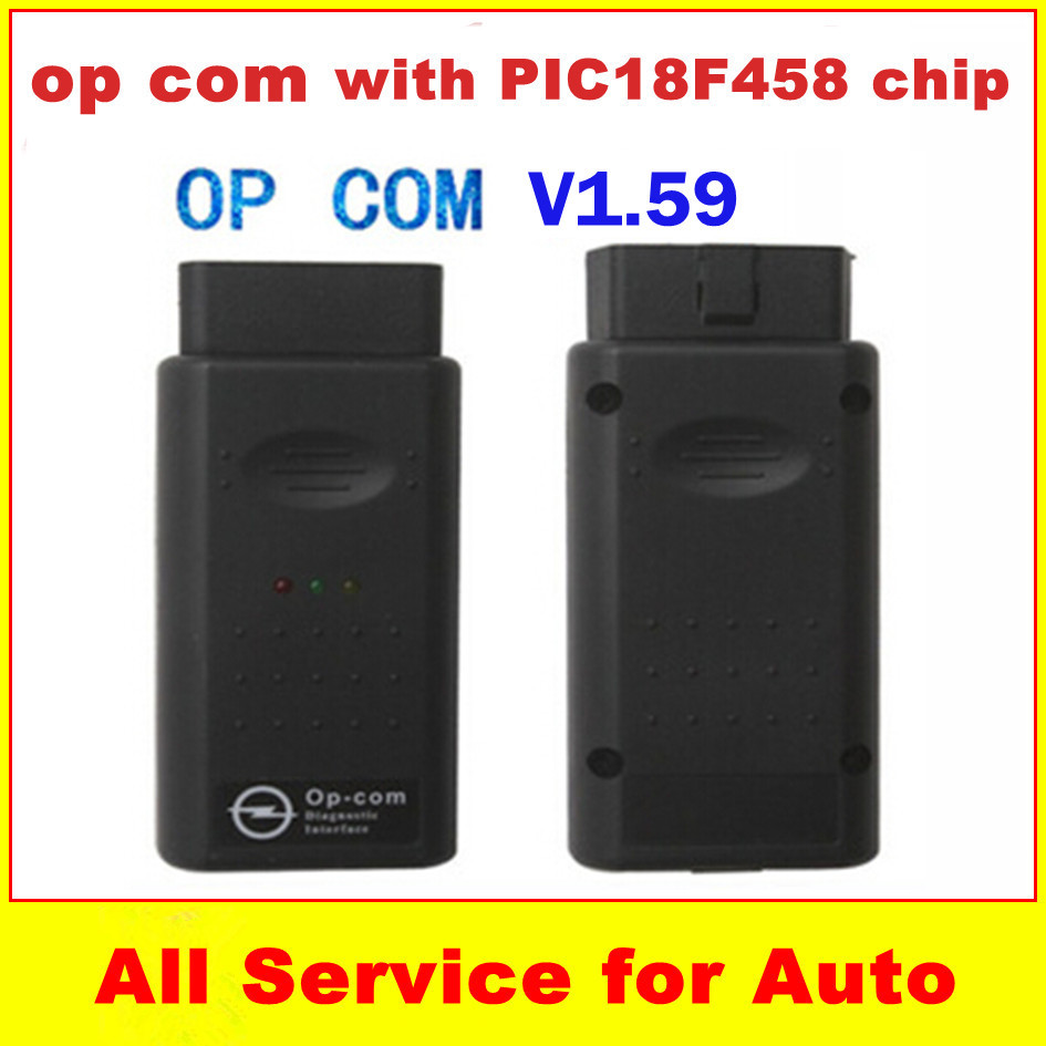 V1.59 OBD2 OPCOM OP COM OP-COM v120309A PIC18F458 chip Opel scan tool Stock - welcome to freyr's store