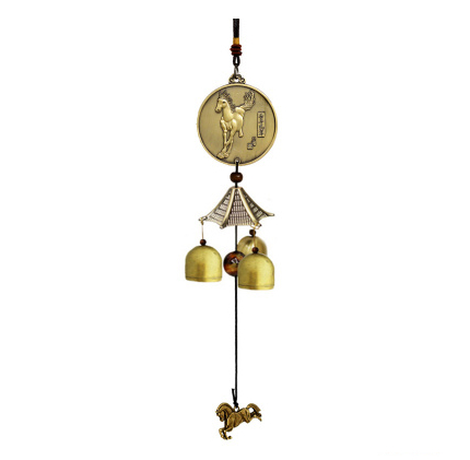 11 Styles Brass Wind Chimes 3 bells,Culture Handmade Crafts,Small Door Copper Bell,Car & Home Decoration,Brass,Gift,Arts,Trim(China (Mainland))