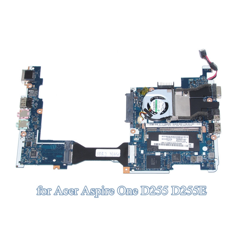 laptop motherboard For acer aspire one D255 D255E Atom N450 1.6GHz mainboard PAV70 LA-6221P MBSDF02001 MB.SDF02.001(China (Mainland))