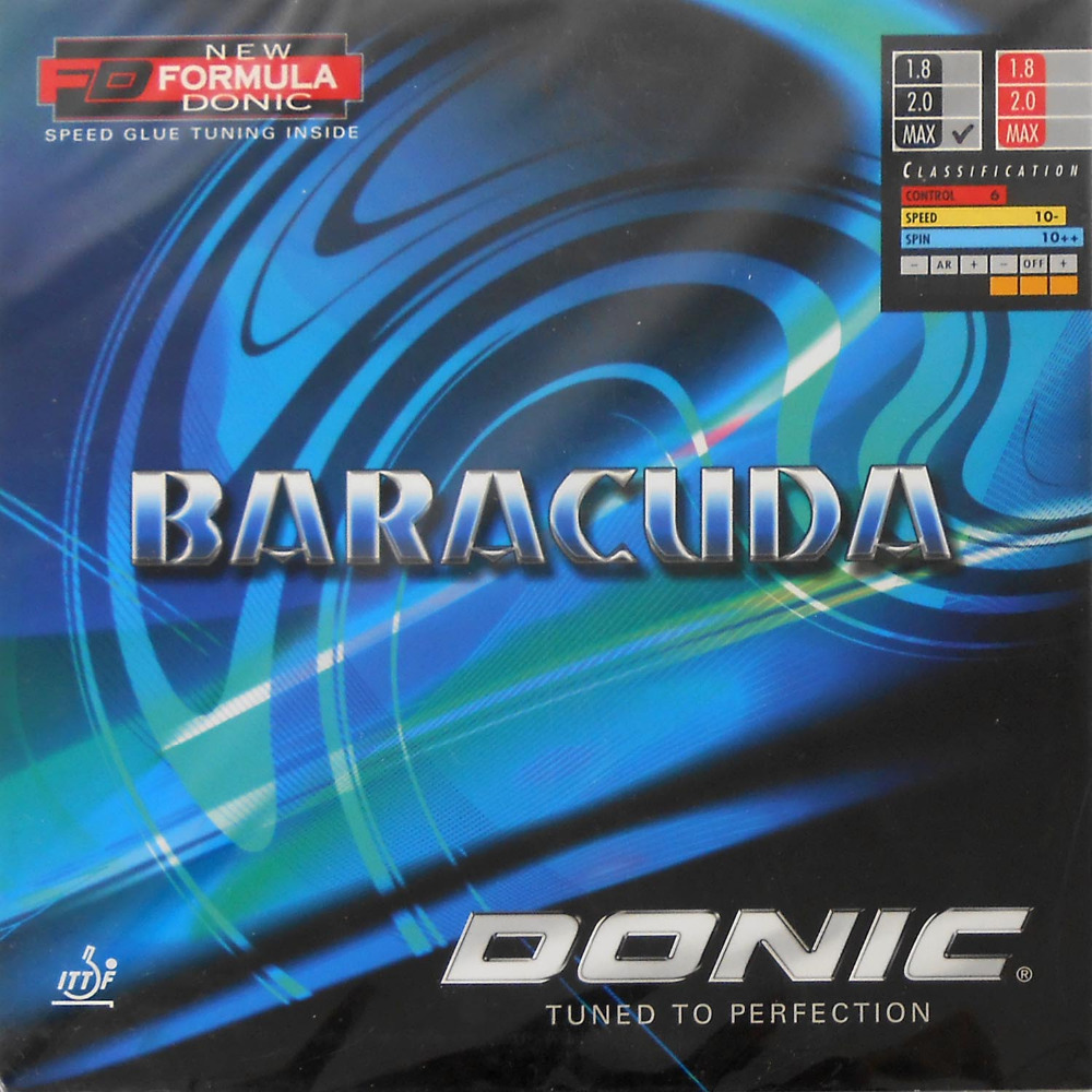 Donic BARACUDA (12080#) pips-in table tennis / pingpong rubber with sponge<br><br>Aliexpress