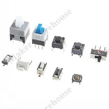 10 Kinds of Tactile Switches Push Button SMD Tact Switch Switch (100pcs)(China (Mainland))