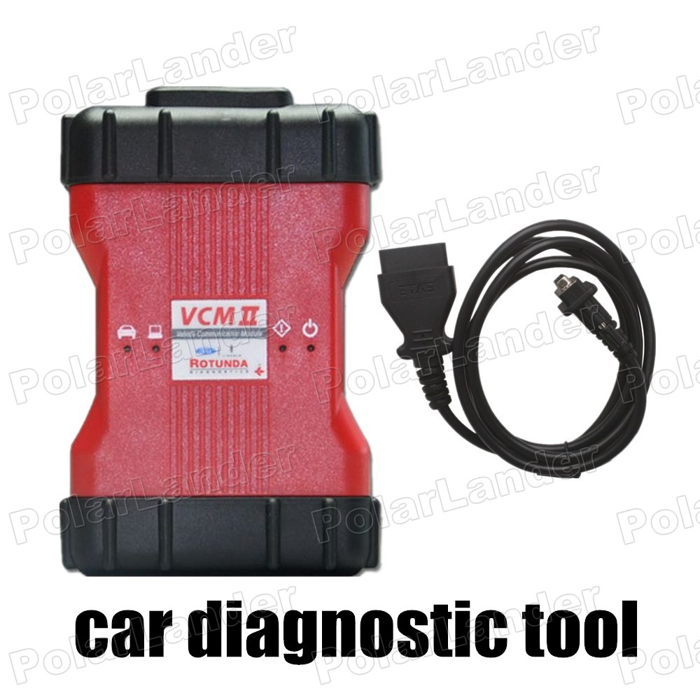hot car diagnostic tool VCM II 2 in 1 OBD with Set Adjust or Remove Speed Governors function For Ford IDS V98 for Mazda IDS V96(China (Mainland))