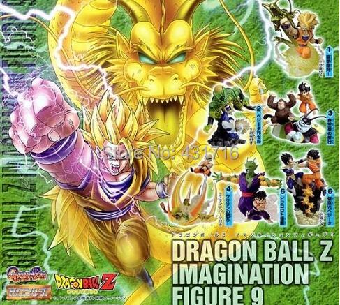 figure dragon ball gashapon capsule hg part 9 toys dragonball z action juguete 6pcs/set - Hello Shop store