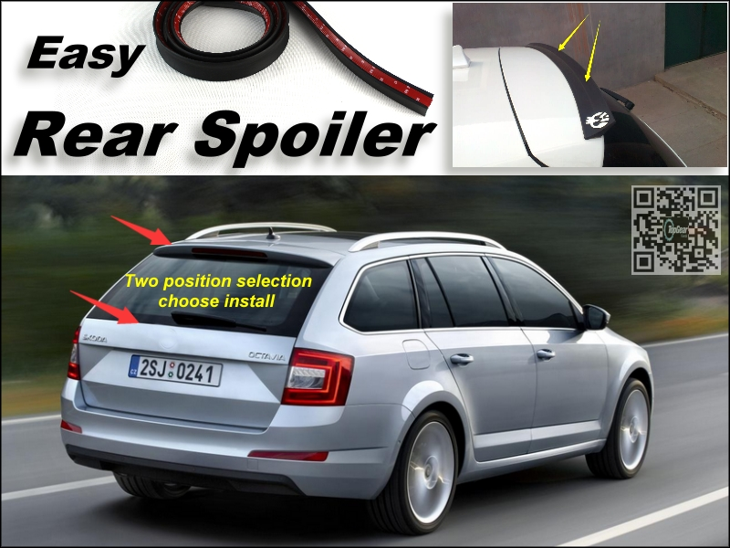 Root / Rear Spoiler For Skoda Octavia / Laura Trunk Splitter / Ducatail Deflector For TG Fans Easy Tuning Tuning / Free Modeling<br><br>Aliexpress