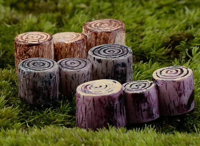 Zakka Mini coto para fada do jardim paisagem simulação de madeira raiz de árvore de boneca decoração figuras de brinquedo(China (Mainland))