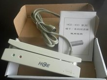 HCE-402 Magnetic card reader Track2 PS/2 Universal Magnetic Stripe Card Reader Track2 Free Shipping(China (Mainland))
