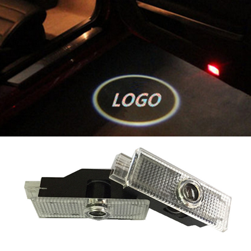 LED car door welcome projector logo laser ghost shadow light for Land Rover Range Rover Evoque Discovery 4 Freelander 2(China (Mainland))