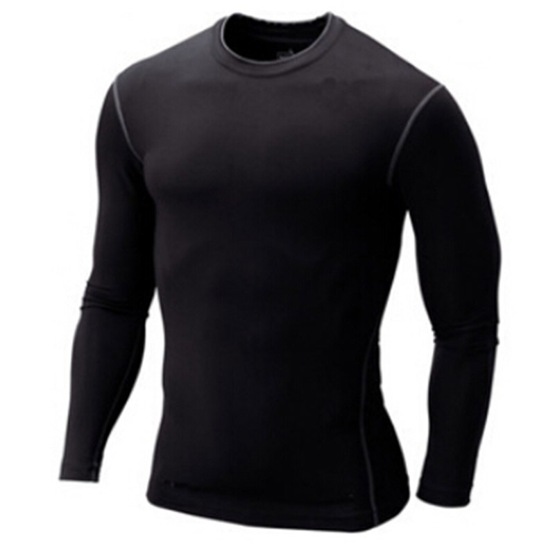 Mens Tops Long Sleeve  rashguard Training Clothing Swimwears Pro Sport Spandex Rash Guard Fitness Surf suit Men Shirt Swim(China (Mainland))