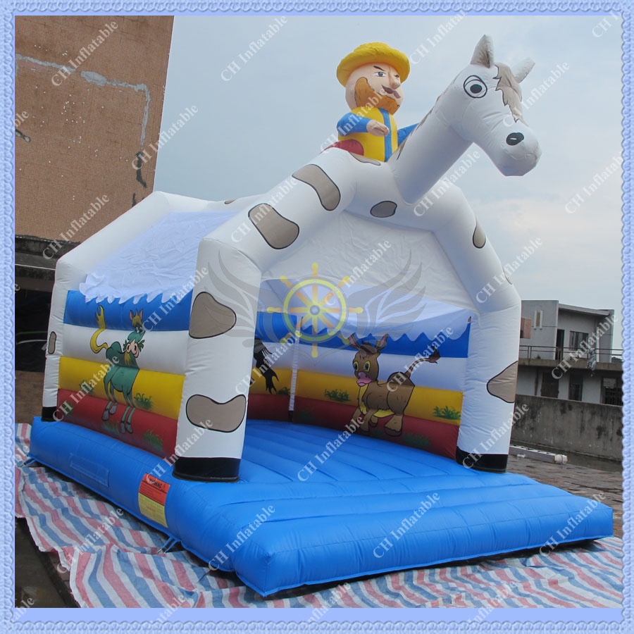 Inflatable Bouncy Castle,Alibaba Inflatable Bouncer,Horse Jumping Castle with Big Blower,Inflatable Bounce House Rentals(China (Mainland))
