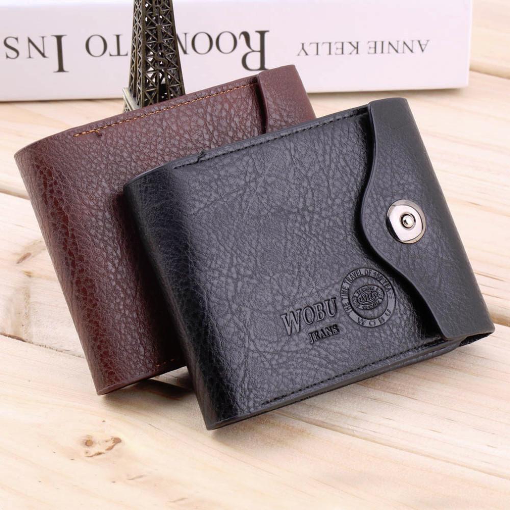 Мужской кожаный бумажник- кошелек фото