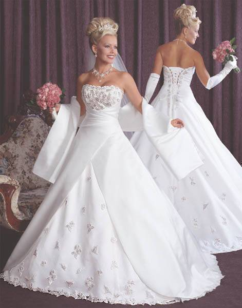 Online get cheap butterfly wedding dresses for Butterfly back wedding dress
