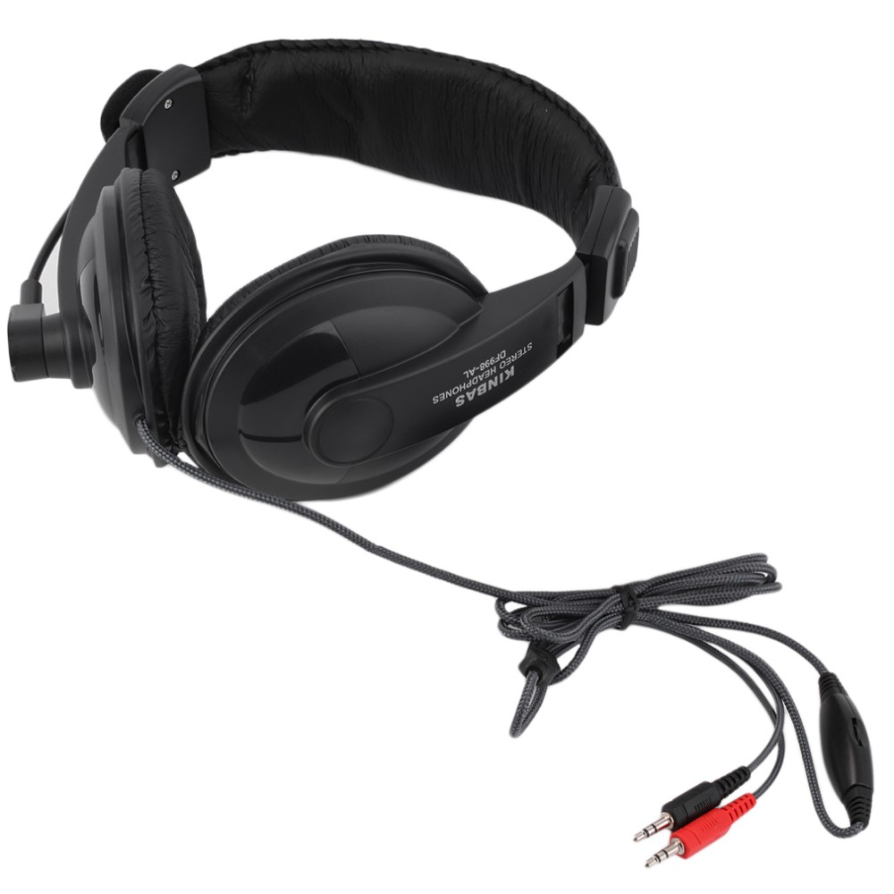 2016 High Quality Gaming Headset Game Music Headphone Earphone with Microphone Mic 3.5mm For PC Laptop Computer Black Hot Sale