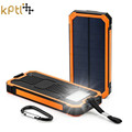 KPTL Solar Poverbank Mobile Phone Power Bank Portable External Sun Charger Cellphone Battery Powerbank 15000mah Universal