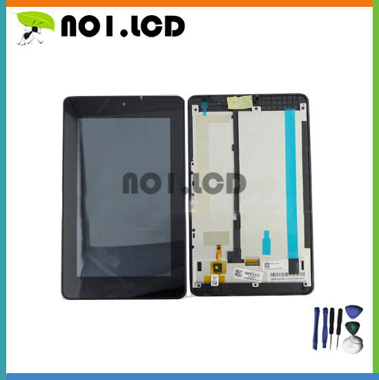 """7"""" New yuan for acer tablet B1-730 B1-730HD B1 730 original LCD + touch screen assembly with frame+tools(China (Mainland))"""
