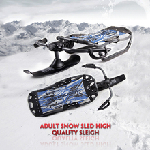 Best quality Snow sled skiing sleigh most popular products for winter outdoor ski snowboarding Safe Joyful and exciting !!!(China (Mainland))