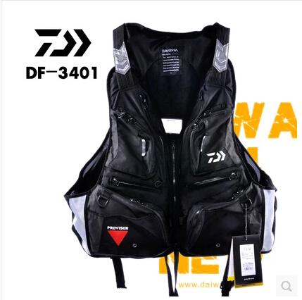 Good Quality Famous Brand Professional life vest fishing vest fishing jacket fishing tackle DF-3401 floating vest(China (Mainland))