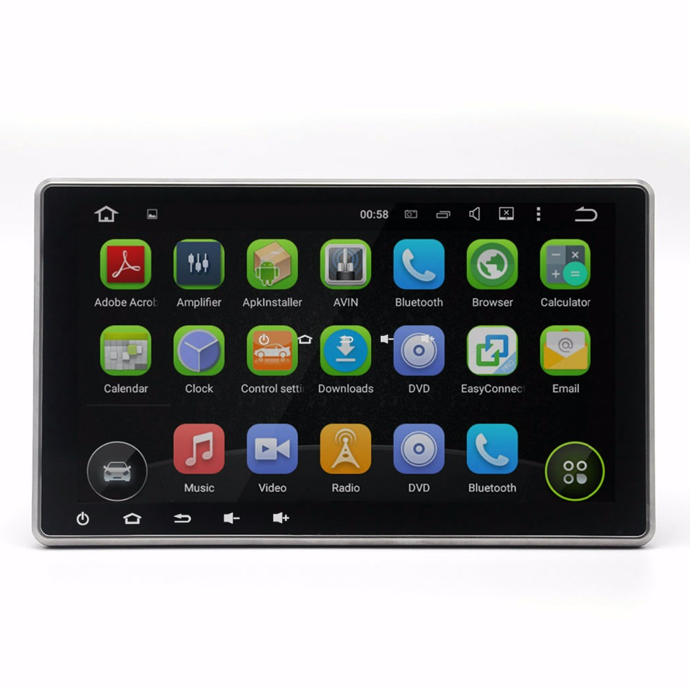 Top sell Android 5.1 10.1 inch 2 pin din car gps radio 16GB DAB+ WIFI 4G OBD Mirror Link Car DVD Player(China (Mainland))