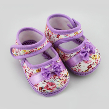 Baby Girls First Walkers Flowers Bow Baby Toddler Shoes Newborn Baby Shoes For 3 12 Months