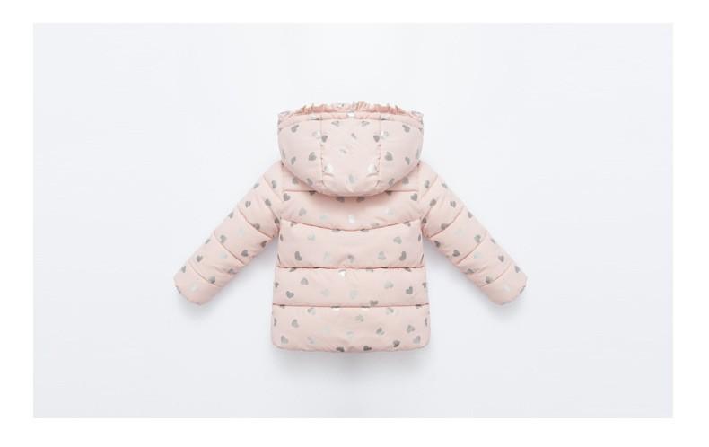Скидки на Новый 2016 Зима Детская Одежда Девушки Верхняя Одежда для Детей Вниз Пальто Милый Верхняя Одежда Принцесса Розовый Теплое Пальто WX202