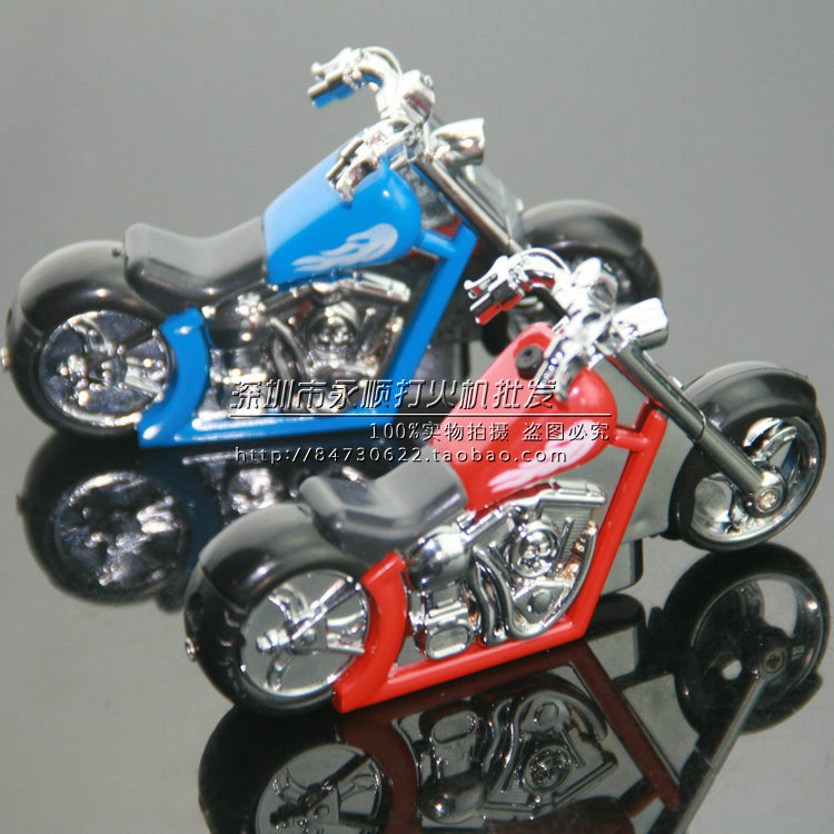 New strange creative personality Motorcycle gas lighters cheap wholesale collection(308)(China (Mainland))