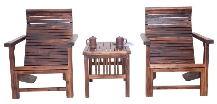 Salon de jardin en bois ray chaises et bureau de jardin for Bureau de jardin en bois