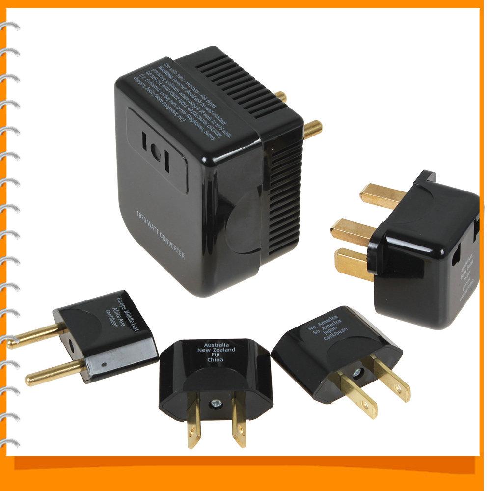 Soshine All in One US / UK / EU / AU Universal International Plug Adapter Socket Set World Travel Power Plug Converter Outlet(China (Mainland))