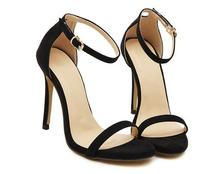 New arrived fashion 5 Color Summer ankle strap Classic Dancing women High Heel Sandals Sexy Party wedding shoes woman