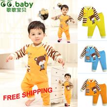 2015 100% Cotton Spring Autumn Baby Sets,Fashion Newborn Clothing Sets, Baby Boy Girl Clothes Suits(Shirt+Pants) Infant Set(China (Mainland))