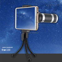 Universal 8X Zoom Optical Telescope For Cell Phone iPhone 5 5S 6 S4 S5 S6 Note2 Support Zoom Len