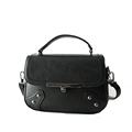 2016 Fashion Mini Retro Handbag Rivets Twist Lock Flap Small Bag Ladies Trendy Designer Shoulder Bag