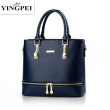 Buy YINGPEI Women Bag PU Leather Handbag Fashion Solid Color Shoulder Messenger Crossbody Bags Large Casual Tote Handbags for $32.44 in AliExpress store