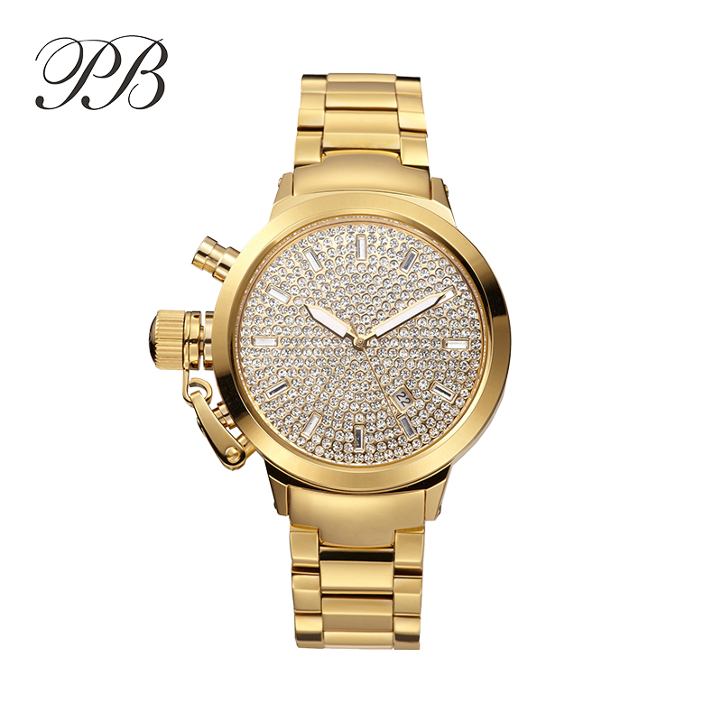 Luxury women watches Stainless Steel band Quartz movement Hardlex dail Crystal time scale high quality watch(China (Mainland))