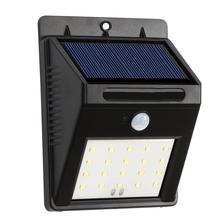 Buy VODOOL Solar Power 20 LED Motion Sensor Light IP65 Waterproof Outdoor Garden Pathway Solar Wall Lamp for $9.90 in AliExpress store