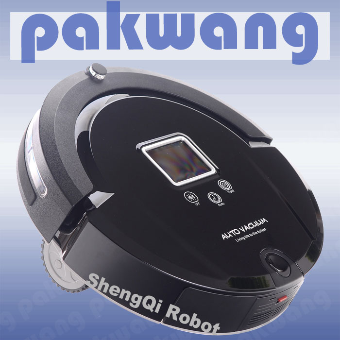 LED Automatic Intelligent Sweeping Robot Vacuum Cleaner(China (Mainland))